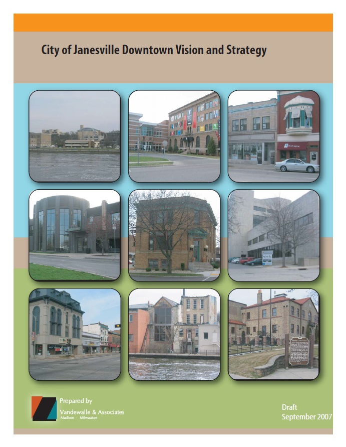 2007 Downtown Plan Cover